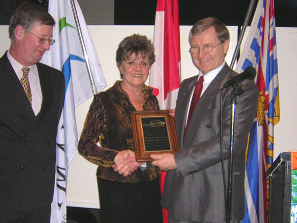 2003 Squamish Business Person of the Year